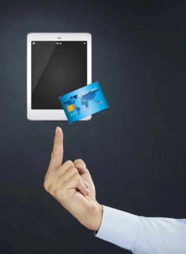 банковская карта планшет